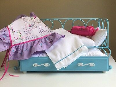 "Authentic American Girl 18"" Doll Bed  Read Description And View All Pictures"