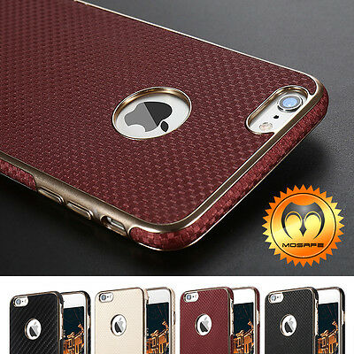 Mosafe® Luxury Leather Shockproof Slim Ultra-Thin Case Cover For iPhone 6 & 6S