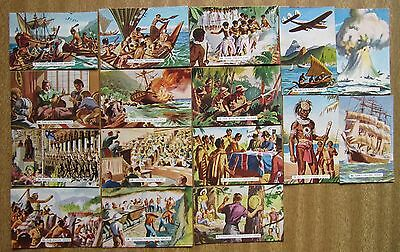 "1954 Sanitarium Cards - ""THE STORY OF THE PACIFIC""  x 16"