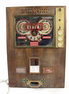 * Rotamint Slot Machine 1950's Germany