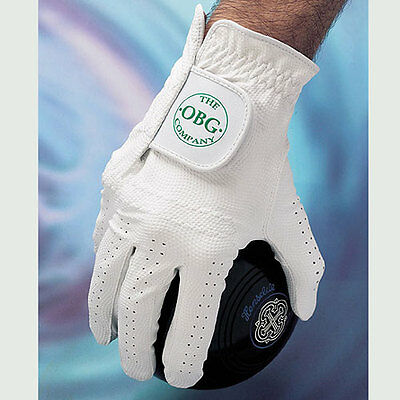 """OBG """"ALL WEATHER"""" SYNTHETIC BOWLS GLOVE - MENS RIGHT HAND. UK Postage free."""