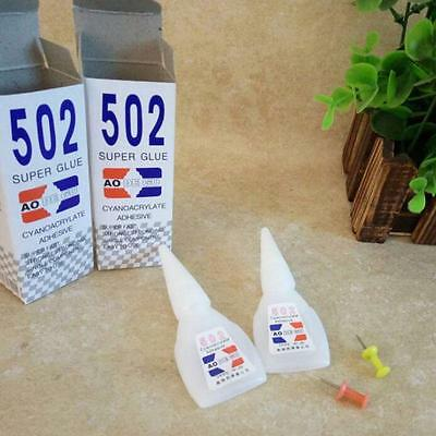 5X Cyanoacrylate Instant Adhesive Adhesion Fast Crafts Repair 502 Super Glue