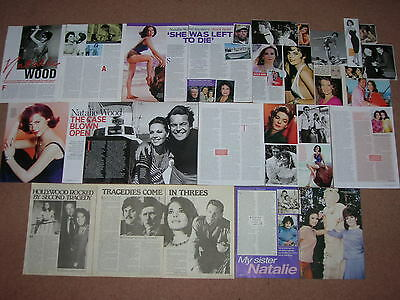 25+ NATALIE WOOD Magazine Clippings