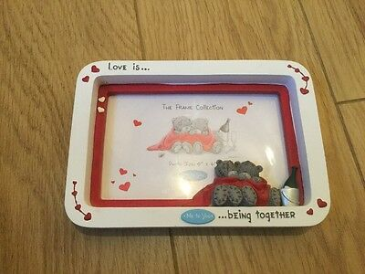 me to you... love is being together... photo frame