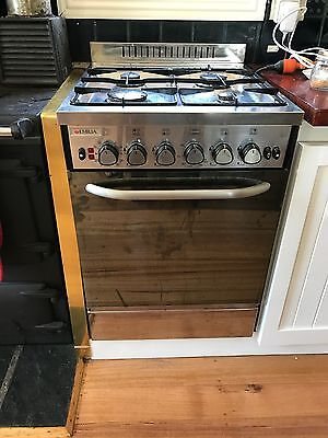 LPG Emilia Gas Upright Stainless Steel Stove (range, Cooktop, Oven)