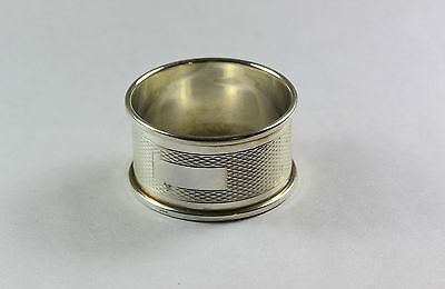 Vintage sterling silver Napkin ring ready to engrave 925