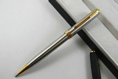 New Parker Sonnet Pen in Stainless Silver with Free Ink Refill and Free Postage