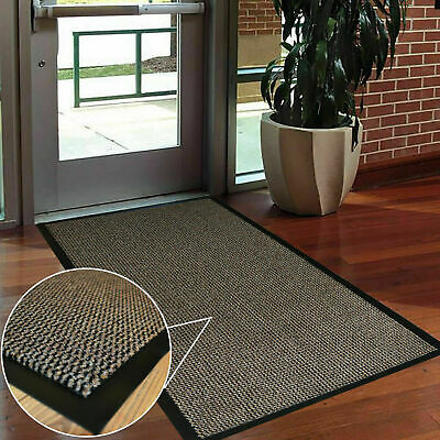 Heavy Duty Non Slip Rubber Barrier Mat Large & Small Rugs For  Door Hall Kitchen
