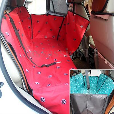 Cat Dog Waterproof Car Seat Pet Cover Rear Back Mat Cushion Protector Hammock