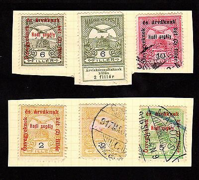 Stamps ~ HUNGARY HUNGARIAN ~ Unsorted Early