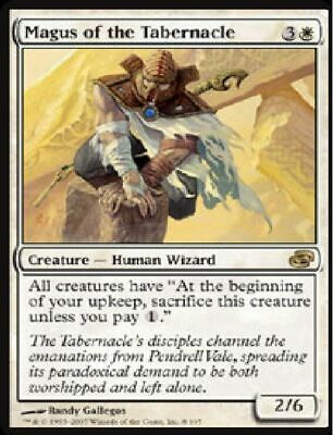 MTG: Magus of the Tabernacle- White Rare - Planar Chaos - PLC - Magic Card