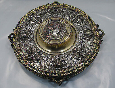 Antiquariato Calamariera in argento antico / old silver Sheffield