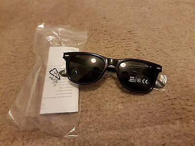 Black Bacardi Rum Shades / Sunglasses Brand New