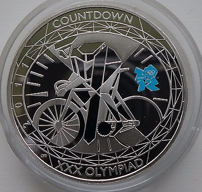 Great Britain 5 Pounds, 2011, Countdown to London Olympics, 2012