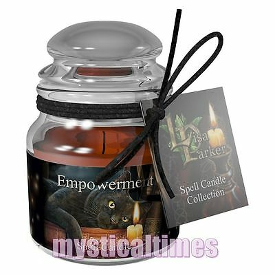 New * Spell Candle * For  Empowerment - Patchouli Lisa Parker Jar Candle