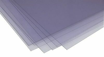 10 A3 Clear Acetate / Plastic Sheets - 240 micron