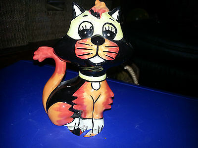 Lorna Bailey RAFFLES THE CAT Excellent Condition FREE P&P %