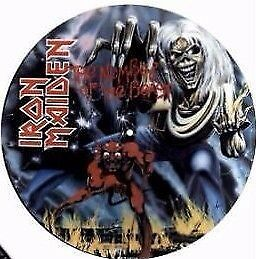 Iron Maiden The Number Of The Beast Round Coaster