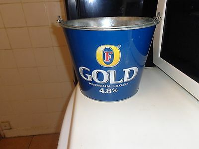 fosters gold ice bucket