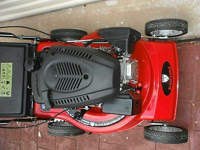 """Black Eagle Series 400 mower & catcher, 158cc 4 stroke engine with an 18"""" cut"""