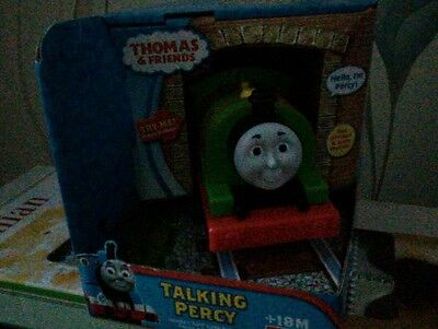 Fisher Price Thomas and Friends Talking Percy  fun phrases and train sounds new