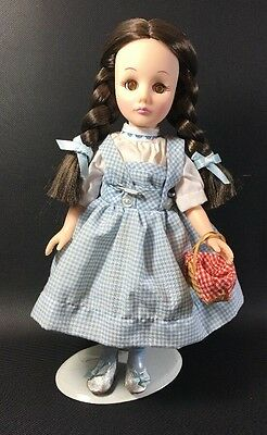 "1976 Effanbee Dorothy Wizard Of Oz Doll 11"" Vinyl 11BB"