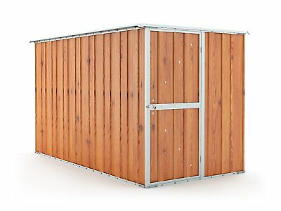 Garden Shed 1.55m x 3.07m x 1.82m Wood Finish Tool Storage Sheds Cheap NEW