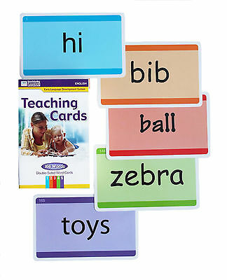"""Your Baby Can Read"" 83 Double Sided Teaching Cards Vocabulary reading 166 words"