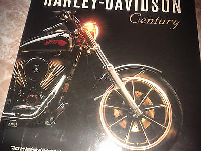 THE HARLEY DAVIDSON CENTURY BOOK a must for harley fans