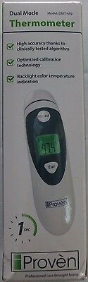 Proven DMT-489 EXCELLENT Dual Mode Thermometer