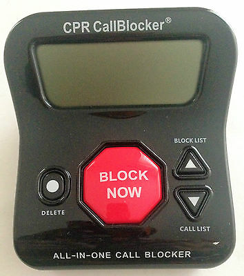 CPR Call Blocker V202 - 1000 Number Blocking - 200 Pre Programmed -