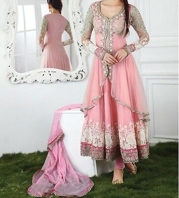 Designer Anarkali Indian Ethnic Bollywood Pakistani New Party Wear Salwar Kameez