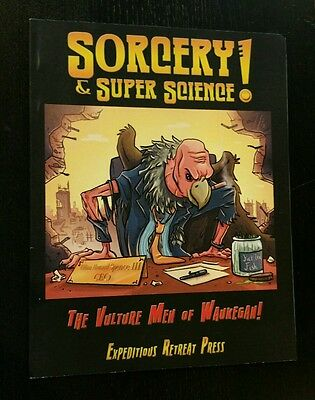 Vulture Men Of Waukegan - Sorcery Super Science Rpg Oop Expeditious Roleplaying