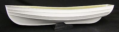 Fibreglass model boat hull  Northumberland Coble with plan 1:12 scale 36 inches