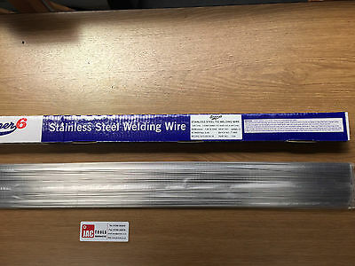 Stainless Steel Welding Wire Rods 1.6Mm Or 2.4Mm Super 6 Tig Filler 316 Grade