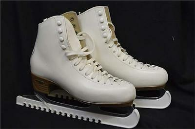 Risport Ice Skates UK Size 6 White Laced (SHELF)