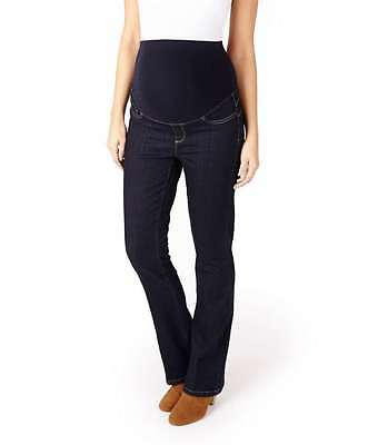 NEW Mamas and Papas M&P Maternity BOOTCUT Blue Jeans  10 Long + 12 Reg + 12 Long