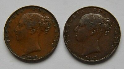 1841 1847 Farthing Collectable Grades