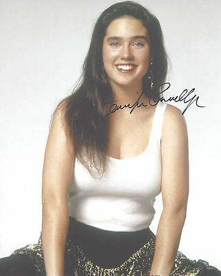 "Hand-Signed Photograph of Jennifer Connelly 10""x8"" with COA"