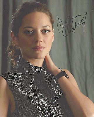 "Hand-Signed Photograph of Marion Cotillard 10""x8"" with COA"