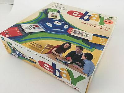 2001 Ebay Board Game Electronic Talking Auction New in Sealed Box 3-4 Players