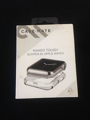 Case Mate Naked Tough Bumper For Apple Watch 42mm NEW!