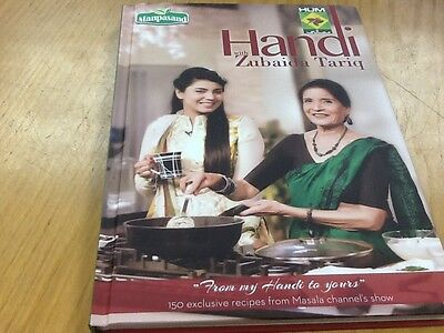 Handi With Zubaida Tariq Authentic Pakistani Cookery Book Full Colour Eng & Urdu