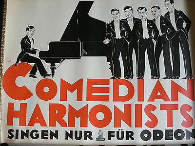 """Plakat """"Comedian Harmonists"""", ODEON, sign. Friedl"""
