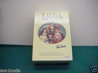 horsman old Little Women Doll JO box hard rubber Original