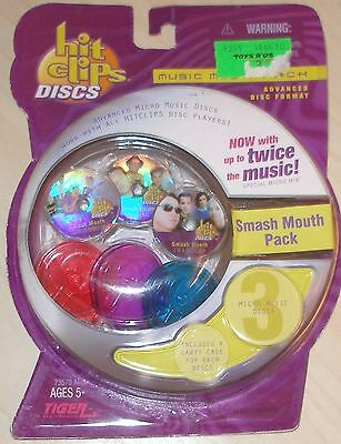 New Tiger Hit Clips Discs Pack Smash Mouth 3 Disc Pack