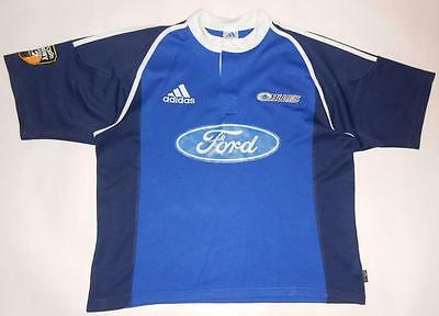 SUPER 12 RUGBY SHIRT ADIDAS BLUES (XL) Jersey Trikot Maillot Maglia Camiseta