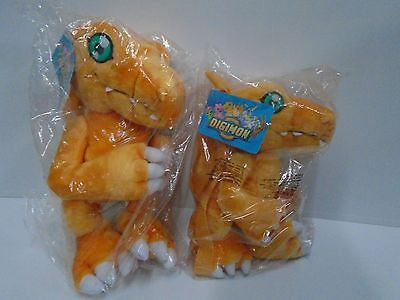 "2 DIGIMON BACK PACK 11"" + 14"" NEW in plastic / RARE / FREE SHIPPING"