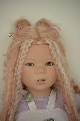 Toshi Annette Himstedt  2006 Atlantis Collection COA doll stand original outfit