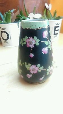 vintage china hand painted small vase